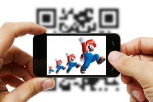 QR Mario