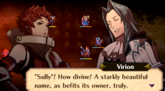 I especially enjoy Virion's personality
