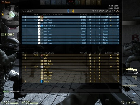 Sample scoreboard; image from blog.counterstrike.net