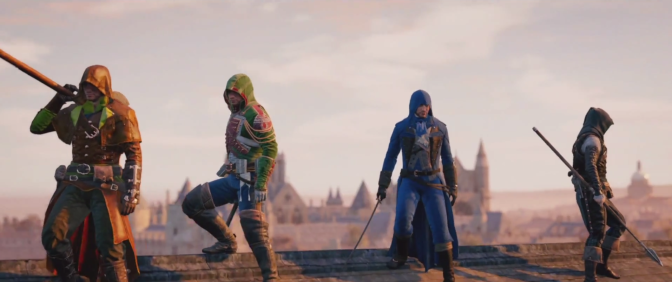 New Co-Op Trailer for 'Assassin's Creed: Unity'