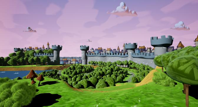 Level Design Practice #3 – Cartoon Kingdom
