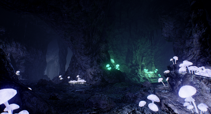 Level Design Practice #5 – Mushroom Caverns